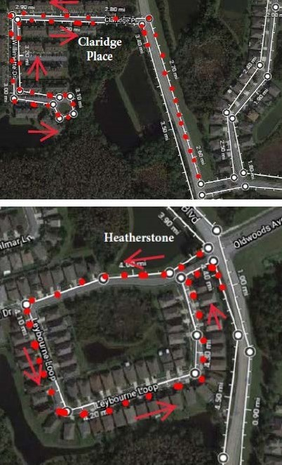 Claridge Place and Heatherstone Route
