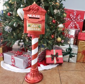 Mailbox in Clubhouse for Santa