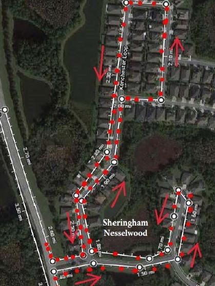 Sheringham/Nesselwood Route